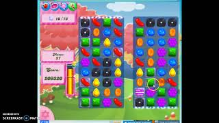 Candy Crush Level 375 Audio Talkthrough, 2 Stars 0 Boosters