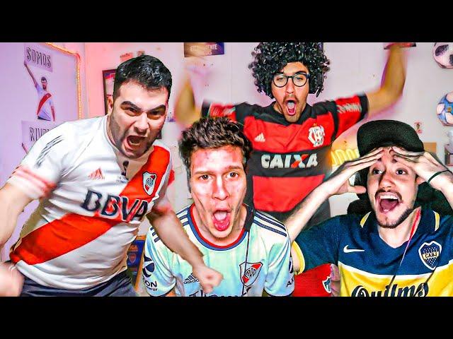 Reacciones de Amigos | San Pablo vs River | Copa Libertadores 2020