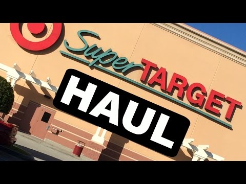 TARGET TOUR + HAUL!!! Pavlinna17