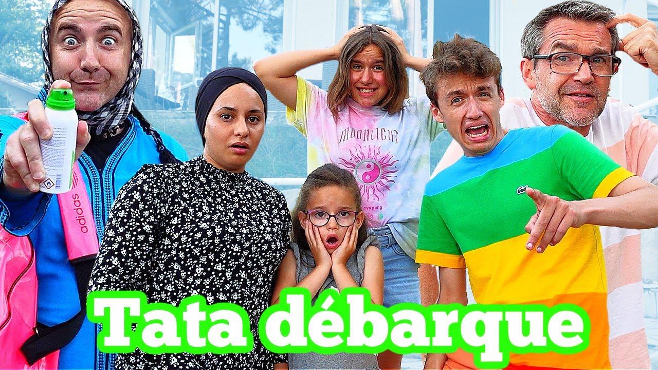 TATA HABIBOUCHA DEBARQUE ! UNE VRAIE CATASTROPHE ! feat PINK LILY VIDEO