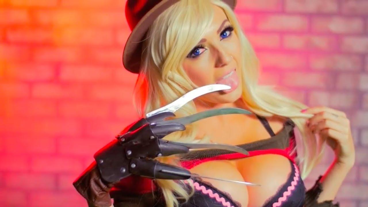 Ninja Girl Wallpaper Onyx Vs Freddy Feat Jessica Nigri Youtube