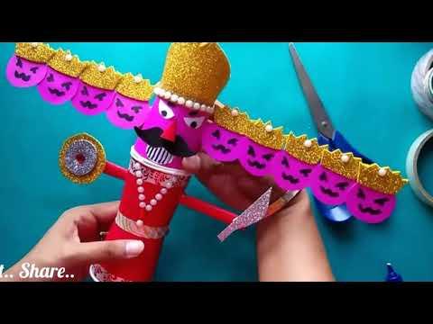 DIY Mini Ravan • How to make Ravan • Super Easy Ravan Making • Easy Ravan • Dusshera Special Craft