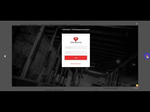 Free Download Gym Master - Gym Management System