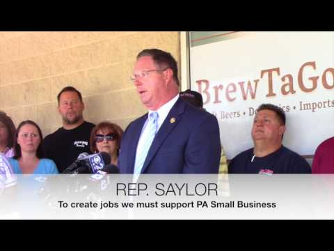 REP. SAYLOR on VGT's & Casino Owners controlling PA legislation (PA TAVERNS)