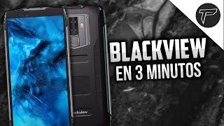 Blackview en 3 minutos   CELULARES INDESTRUCTIBLES Y CON SUPER BATERÍA (Pero con MediaTek)