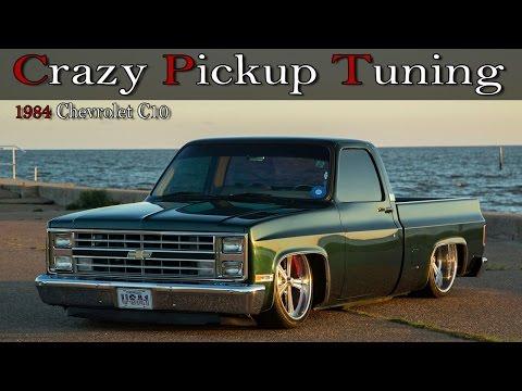 Crazy Pickup Truck Tuning: 1984 Chevrolet C10 Lowrider ...