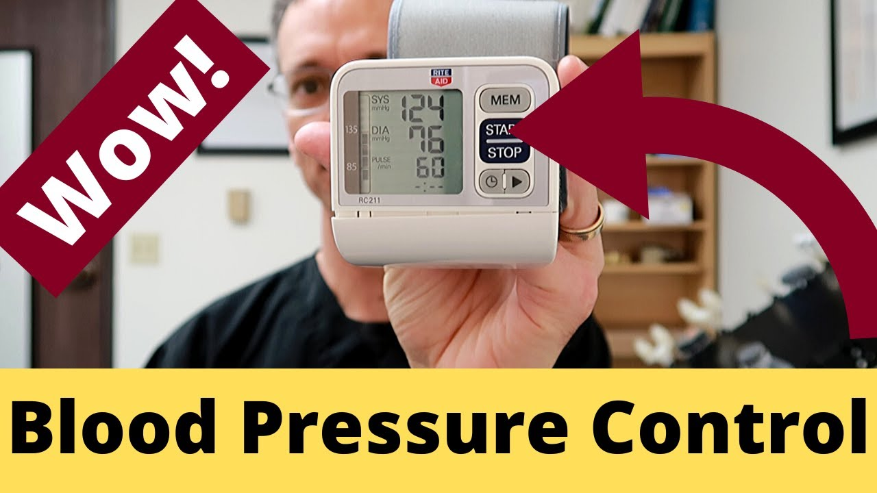 Breathing for Blood Pressure Control: Watch what happens ...