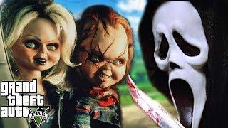 GTA 5 Mod - Ma Nhọ Ghost Face Chọc Giận Chucky Và Cái Kết | Big Bang