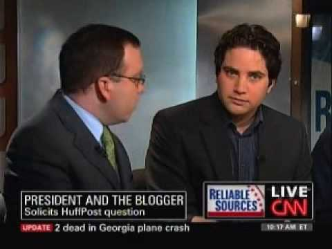 Nico Pitney Confronts Dana Milbank Over Obama Question