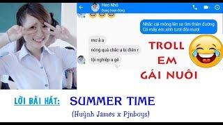 126NET Team || Troll Em gái nuôi bài SUMMER TIME - Huỳnh James x Pjnboys