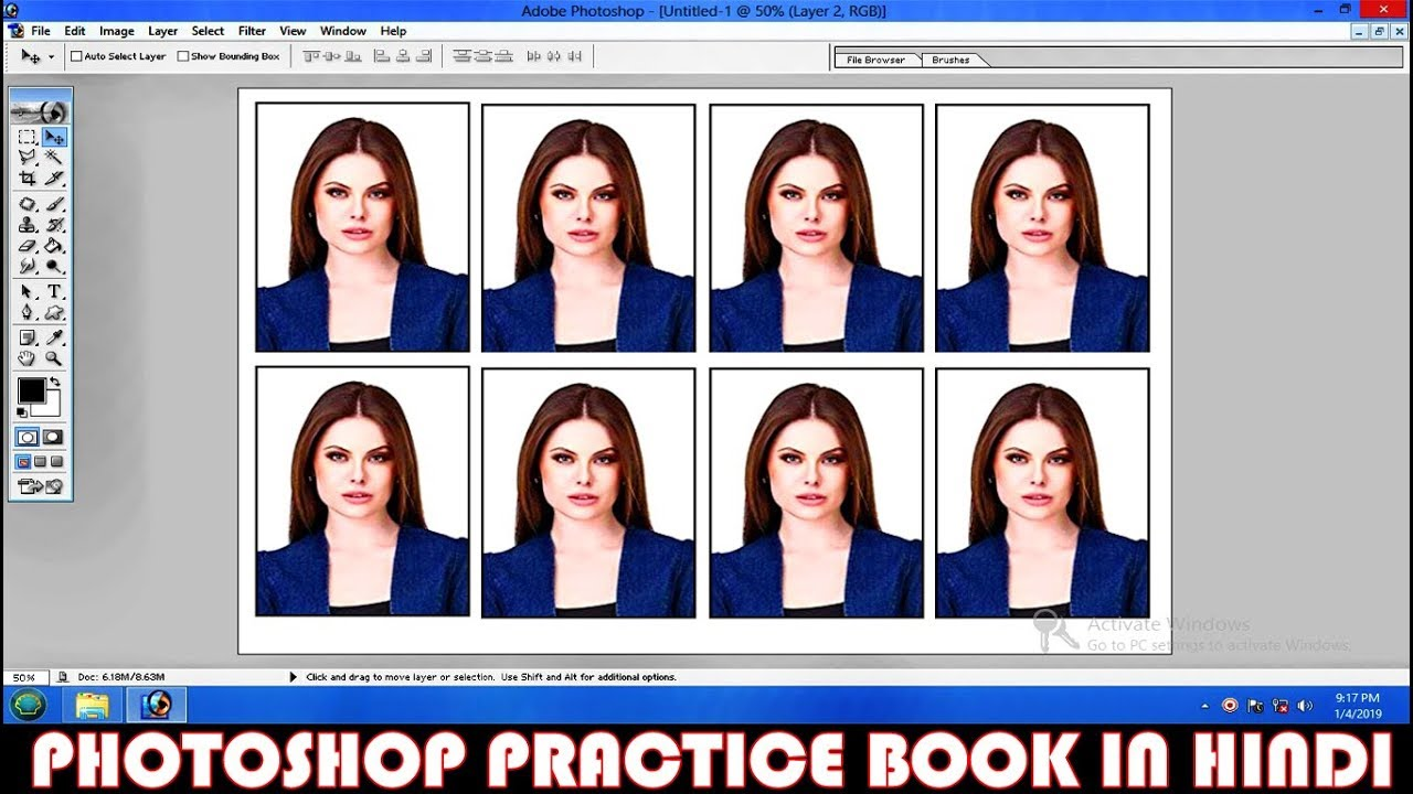 Photo cropping tool for passport | Get Passport ID Photo Maker