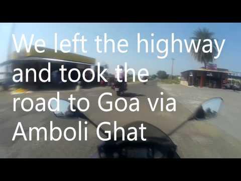Pune to Goa bike trip