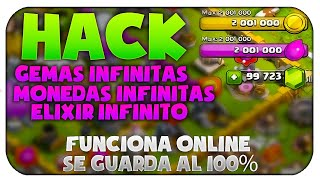 Como hackear CLASH OF CLANS fácil y rápido !!! WILLIAM GAMER 28