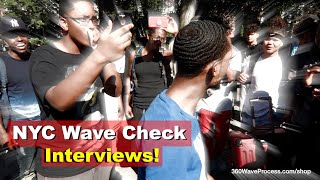 3WP New York City Wave Check Interviews at Union Square Park