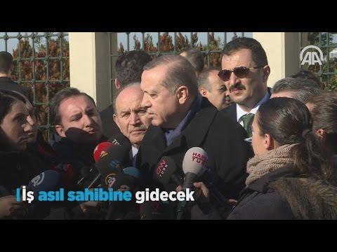 Cumhurbaşkanı Erdoğan: İş asıl sahibine gidecek