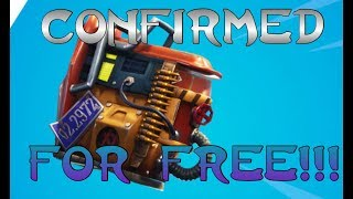 FORTNITE RUST BUCKET BACK BLING CONFIRMED AND ITS FREE!!! | Phantom Overlord