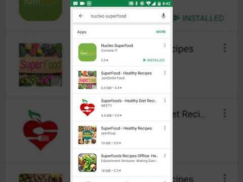 Nucleo superfood App