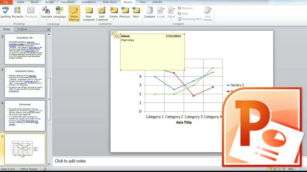 Add Notes To A Powerpoint Presentation, How To Insert Notes Into A  Powerpoint Slide Embedded