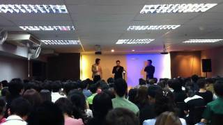 Aimstar Watcharin at Together Plus start up planning