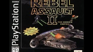 Star Wars Rebel Assault II: The Hidden Empire Review (PS1)