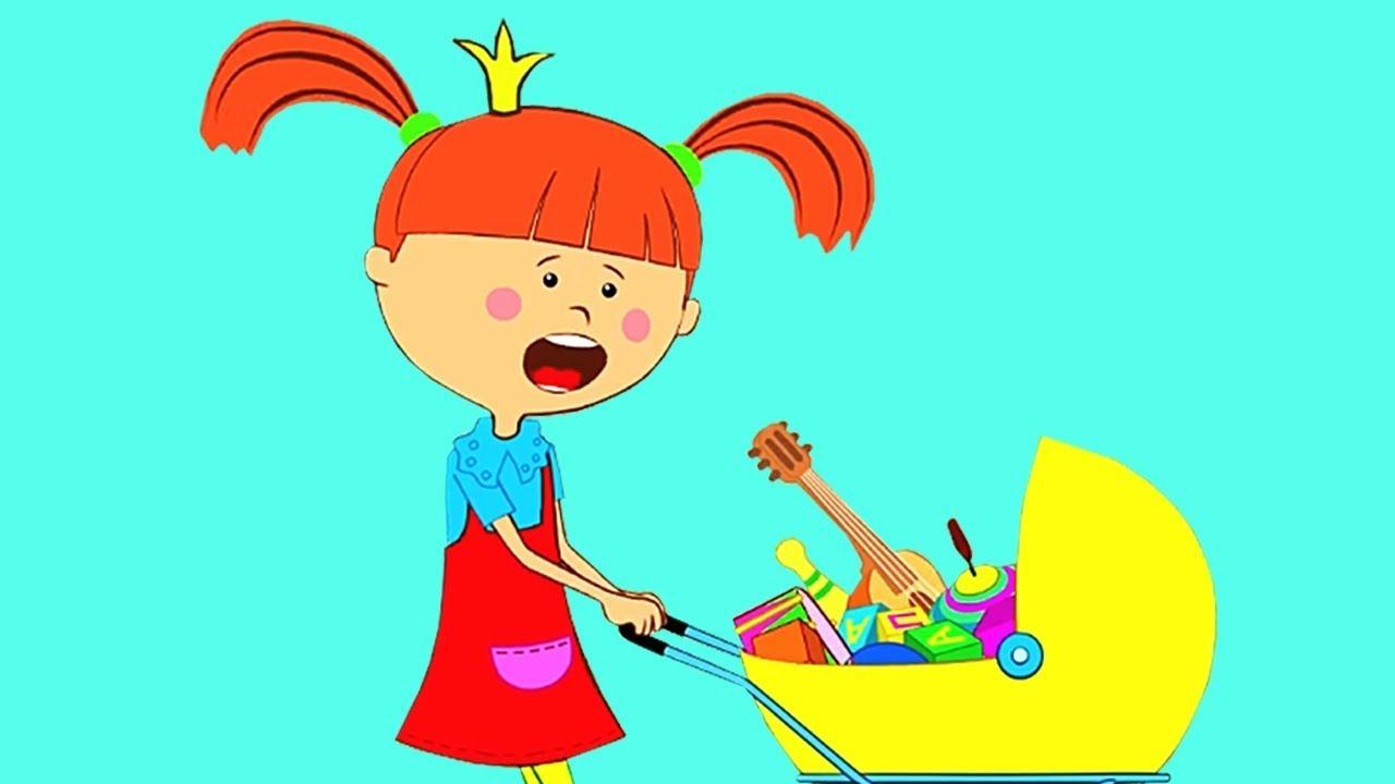 Мультик - Любимые серии Царевны - Сборник мультфильмов для детей