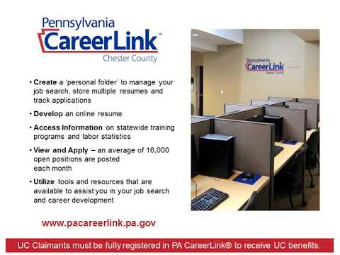 PA CareerLink-Chester County Welcome Center Orientation Video