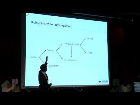 Kunnskapskonferansen 2011: Kultur som næring i kunnskapsøkonomien v/Erik W. Jacobsen