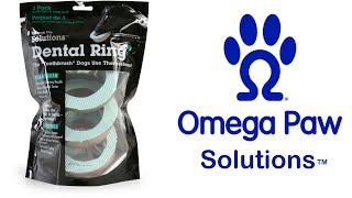 Omega Paw Dental Ring - How to Clean Your Dogs Teeth