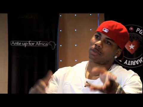 Ante Up for Africa Celebrity Poker Tournament Monte Carlo, Monaco: Nelly Interview