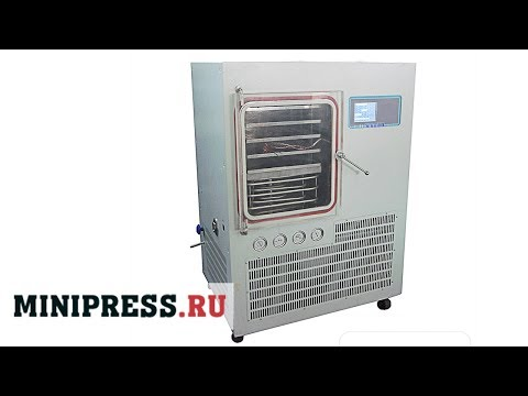 🔥Vacuum Sublimation Freeze Drying LZY 01 Main Video Minipress.ru