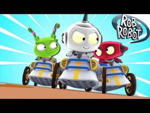 Hero At Heart | Cartoon | Rob The Robot - Episode #55 | Cartoons For Kids