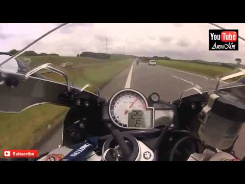 Motorbike Chasing over 300Km In Highway