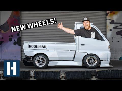 Rotary Powered Pit Truck Gets FRESH Work Wheels + Drift Car Fuel Setup!