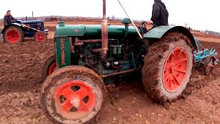 1921-1945 Fordson Model N 4.4 Litre 4-Cyl Tractor (27HP) With Ransomes Plough