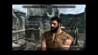 Skyrim: создание Леонида-героя из фильма