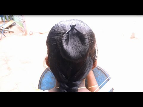 Easy And Simple Hairstyle Making Video Youtube