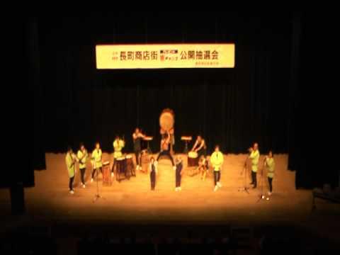 """(2)20130120_楽楽楽ホール(002).mpg 鼓童 """"空 Sora""""雛鼓風"""