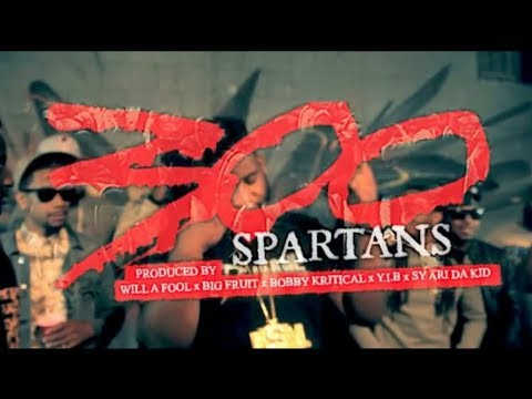 Sy Ari Da Kid feat. Migos, Que, K. Camp, Kidd Kidd, Tha Joker, Verse Simmonds, and more (27 artists total) - 300 Spartans [Arrogant Music Submitted]