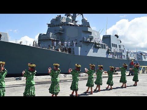 PCU John Finn DDG 113 Arrives At Pearl Harbor