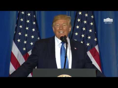 President Trump Holds a Press Conference