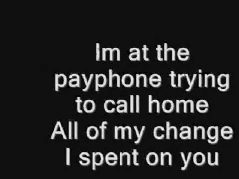 Maroon 5 - Payphone (Edited Version)
