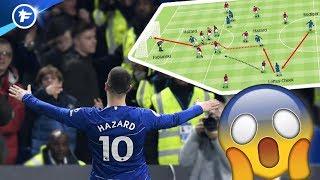 L'Angleterre hallucine après le slalom magique d'Eden Hazard | Revue de presse