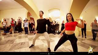 Roynet and Satu Reggaeton  workshop at HSW by Dance Vida
