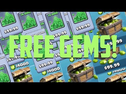 How to Get Free Gems in Clash of Clans & Clash Royale!