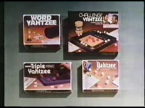 1981 Milton Bradley Yahtzee Commercial