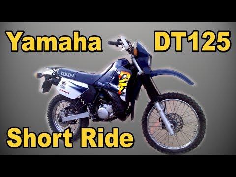 Yamaha DT125 Motorcycle Short Ride Cebu Philippines