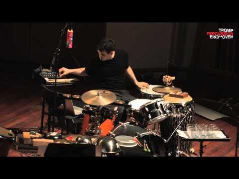 TROMP Percussion Eindhoven 2012 Finals - Garrett Mendelow performing Monkey Chant