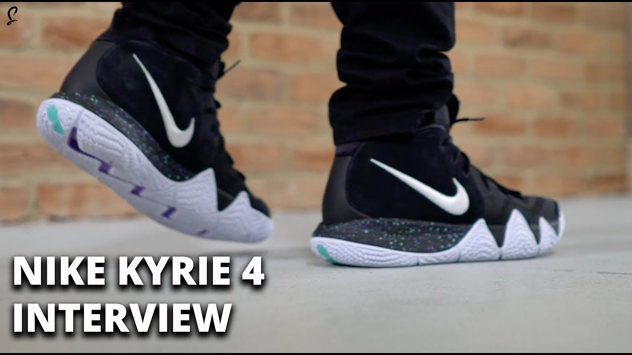 the best attitude 09c66 61373 Nike Kyrie 4 - The Interview   On-Foot Look And Discussion With The  Designer.