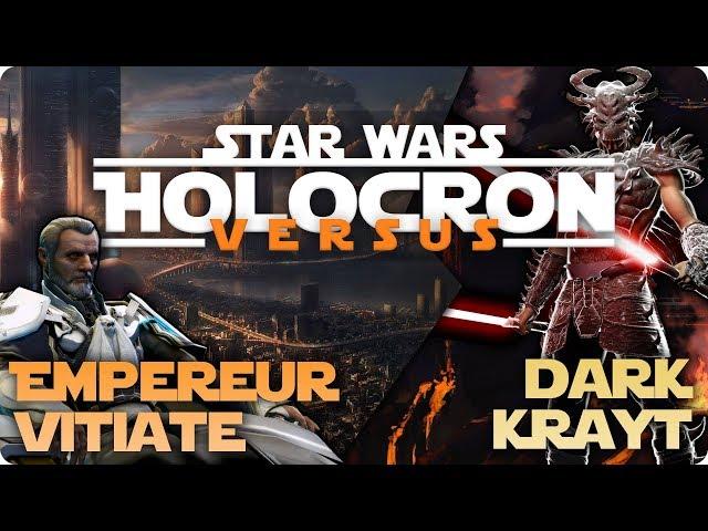 Star Wars Versus #4 | Vitiate ( Valkorion ) vs Dark Krayt