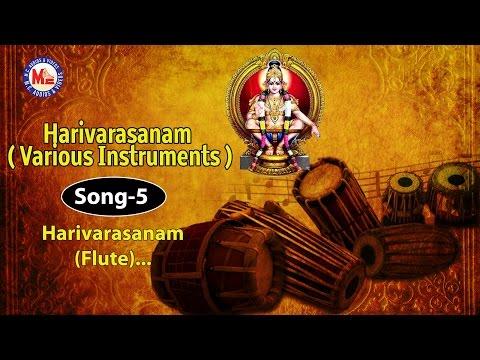Harivarasanam Flute) - Harivarasanam (Various Instruments)